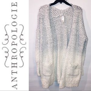 Anthropologie | ruby moon | Ombré Sparkle Cardigan